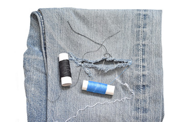 jeans sewing