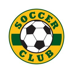 Soccer club sign