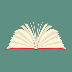 New book flat icon