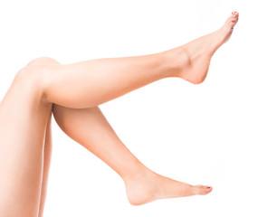beauriful girl`s legs