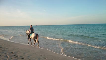 cheval sur la plage 19102015
