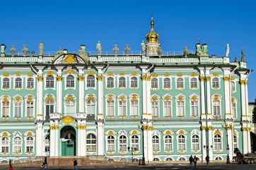 Hermitage museum in St. Petersburg, Russia.