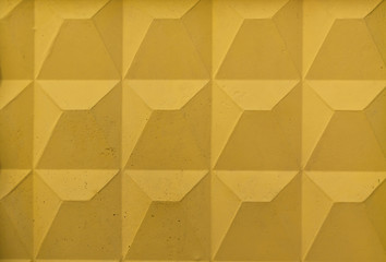 Yellow wall texture.