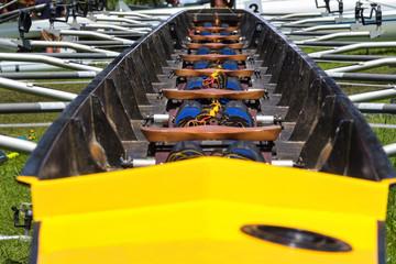 rowing boat interior