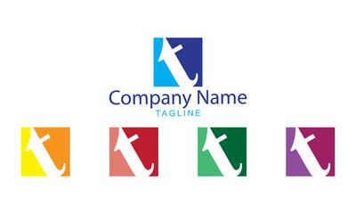 T letter Logo Vector