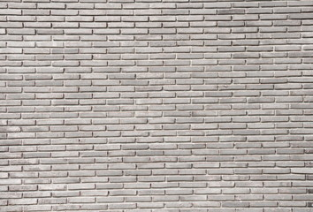 Brick wall Gray color texture background
