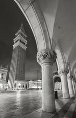 Fototapete - Campanile at St. Mark's Square, Venice, Italy