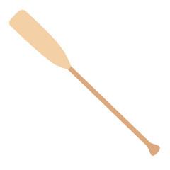 Wooden oar