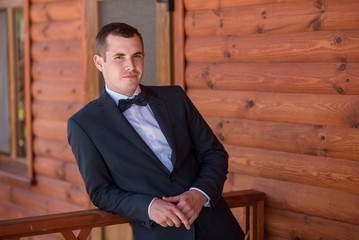 Man dressed suit