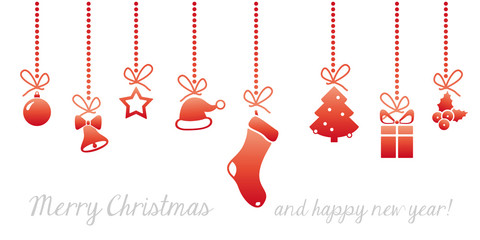 christmas card graphic elements #set4