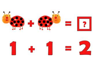 Illustration of Education Mathematics for Preschool Children