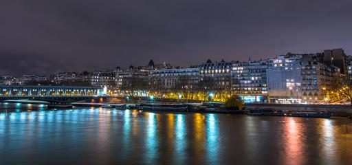 Beautiful Paris city at Night