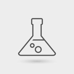 analysis thin line icon