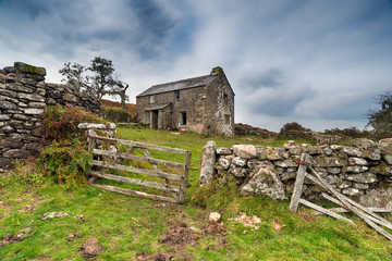 Winter Cottage on the Moors
