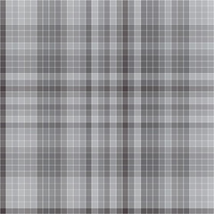Vector pattern with checkered texture. Abstract gray backdrop. Geometrical background. Dark template. Monochrome print.