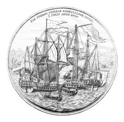 Cabinet of medals, Commemorative Medal (silver) of the Danish na