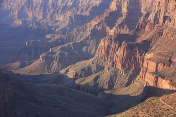 un soir au Grand Canyon