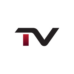 Modern Initial Logo TV