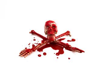 x cross bleed skull