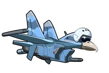 Cartoon Jetbird 4