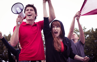 Participants of student revolution