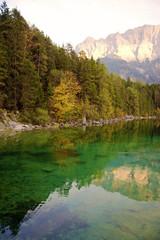 Alpine Lake in Fall