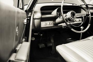 Fotomurales - Classic car interior