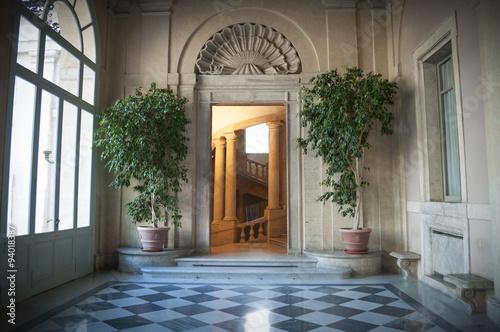 roma porta del quirinale photo libre de droits sur la