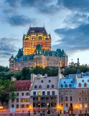 Frontenac castle, Quebec