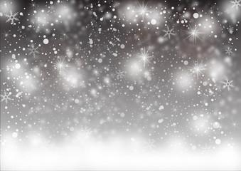 Hintergrund mit Sternen in silber