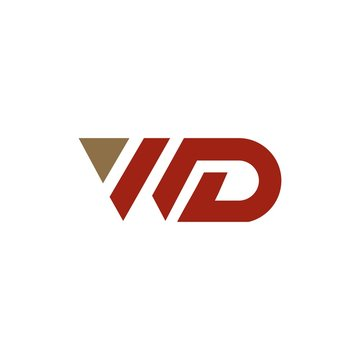 wd initial logos