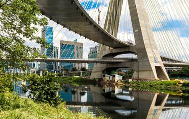 Sao Paulo bridge in Brazil