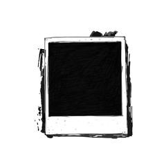Vintage drawing photo frame