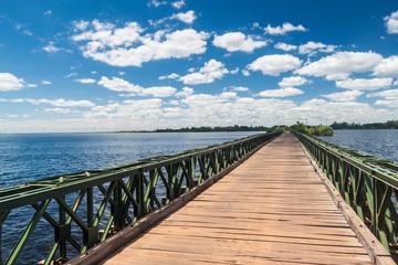 Bridge in Nature Reserve Esteros del Ibera, Argentina