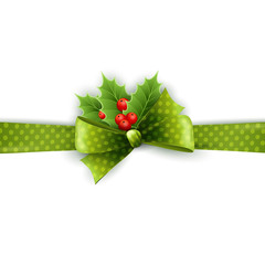 Christmas ribbon decoration