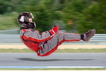 Poster Motorise Racing driver