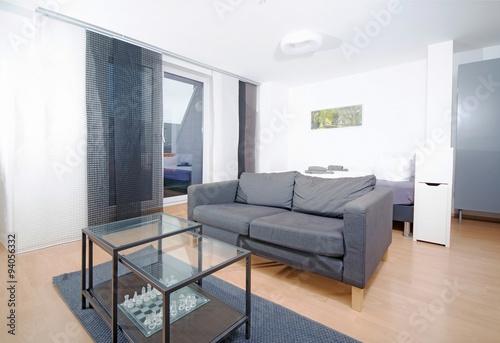 Modernes Wohnzimmer In Grau