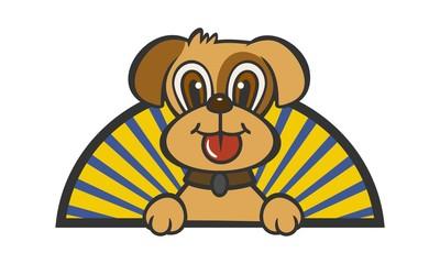 Cute Cartoon Dog Image