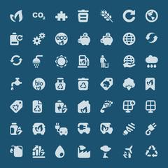 iconset ecology blue