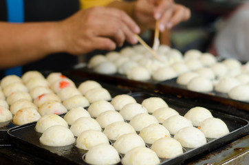 process to cooking takoyaki most popular delicious snack of japanese