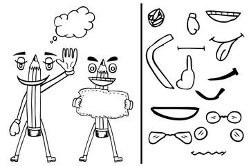 Character - Pencil