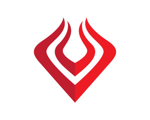 Falcon, Wing Logo Template