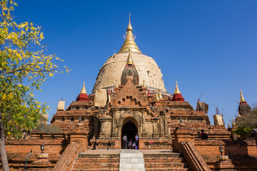 Dhamayazika Pagoda Temple, Bagan, Myanmar.