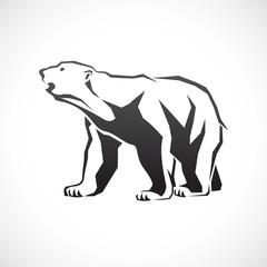 Polar bear icon.