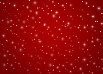 Weihnachtshintergrund mit funkelnden Sternen