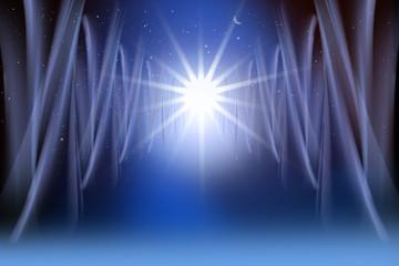 Sternenlicht im All