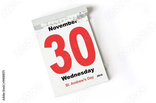 79eb008ad29f 30. November 2016 St Andrews Day