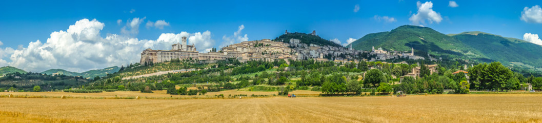 Historic town of Assisi, Umbria, Italy