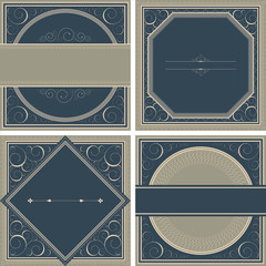 Vintage Background set