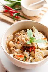 """North-eastern thai Spicy Soup with Pork, """"Kaeng Oom"""""""